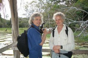 Steve Pinker and Bob in the Amazon