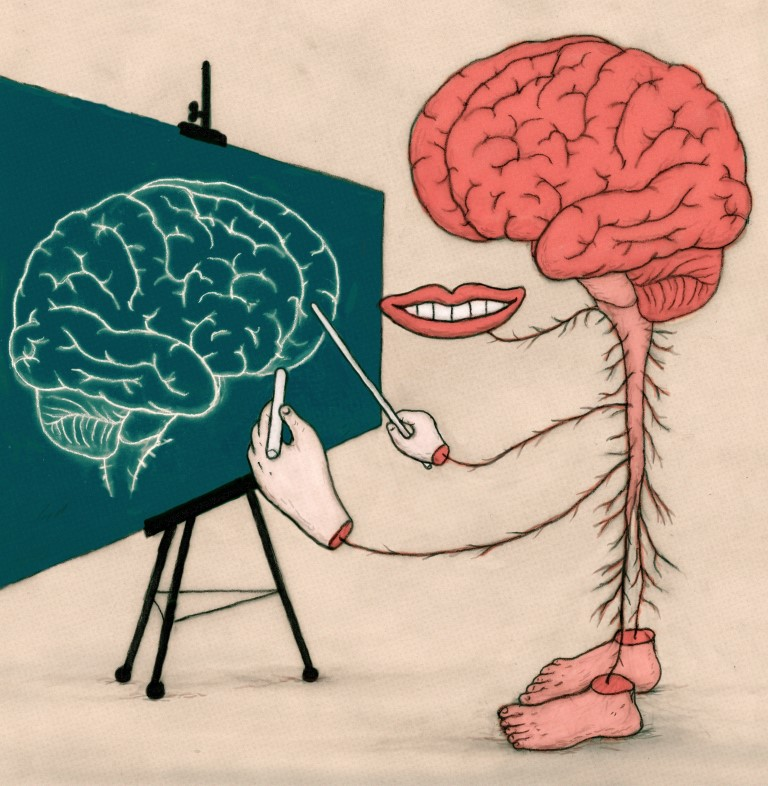 Jon Rosen Brain Drawing Itself